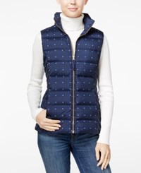 Tommy Hilfiger Printed Puffer Vest Masters Navy Multi