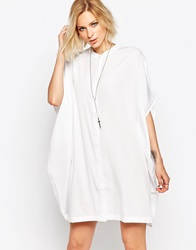 Religion Lover Shirt Dress Winterwhite