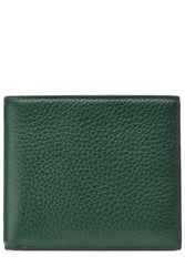 Smythson Leather Wallet Green