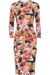 Givenchy Pencil Dress In Floral Print Stretch Jersey