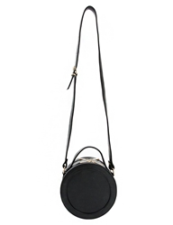 Pixie Market Round Up Black Cross Body Bag