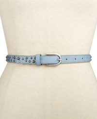 Inc International Concepts Skinny Stud And Stone Belt Only At Macy's