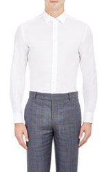 Brooklyn Tailors Men's Pique Shirt White