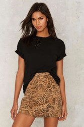 After Party By Nasty Gal Essential Tee Black
