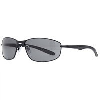 John Lewis Metal Framed Sports Sunglasses Gunmetal