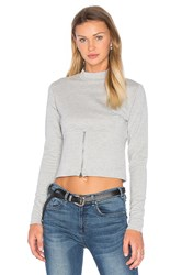 Cheap Monday Vote Sweatshirt Gray