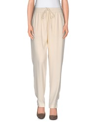 Stefano Mortari Trousers Casual Trousers Women Ivory