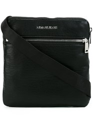Armani Jeans Messenger Bag Black