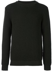 Tomorrowland Cable Knit Jumper Green