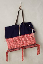 Anthropologie Samet Tote Assorted