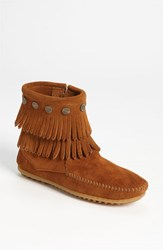 Women's Minnetonka 'Double Fringe' Boot