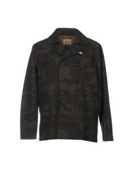 Bellerose Coats Military Green