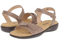 Walking Cradles Sky 3 Taupe Snake Print Women's Sandals