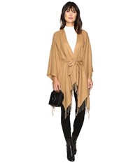Only Sigrid Weaved Poncho Camel Women's Sweater Tan