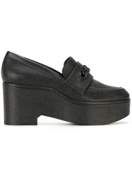 Robert Clergerie 'Xan' Platform Loafers Black