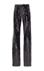 Alexis Mabille Sequined Bow Trouser Black