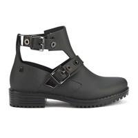 Melissa Women's Antares Cut Out Ankle Boots Black