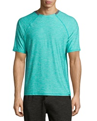 Soybu Kinetic Mesh Panel Short Sleeve Tee Baltic