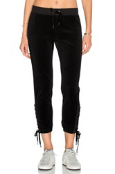 Pam And Gela Lace Up Sweat Pant Black