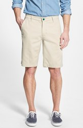 Ag Jeans Men's Ag Green Label 'The Canyon' Flat Front Performance Shorts Beach Sand