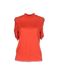 Rena Lange Knitwear Turtlenecks Women Coral