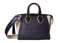 Sam Edelman Jodie Tote Ink Navy Leather Tote Handbags