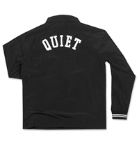 The Quiet Life Ribbed Garage Jacket Black Huh. Store