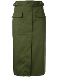 Scanlan Theodore Safari Skirt Green