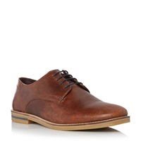 Howick Biscuit Lace Up Derby Shoes Tan