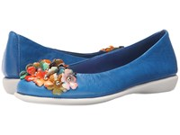 The Flexx Miss Daisy Sailor Multi Skipper Smith Women's Shoes Blue