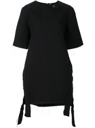 Damir Doma 'Tasco' Long Length T Shirt Black