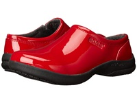 Bogs Ramsey Patent Leather Red Women's Slip On Shoes