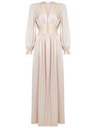 Ghost Farah Dress Nude