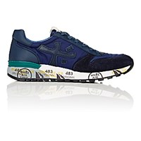 Premiata Men's Mick Low Top Sneakers Navy