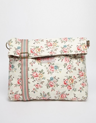 Cath Kidston Reversible Folded Messenger Bag In Kingswood Rose Print Kingswoodrose
