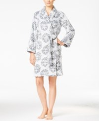 Charter Club Embossed Short Robe Only At Macy's Medallion