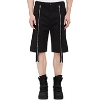 Hood By Air Men's Twill Layered Shorts Black