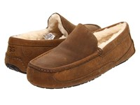 Ugg Ascot Chestnut Leather Men's Slippers Brown