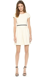 4.Collective Cap Sleeve Dress Cream