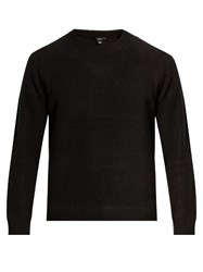 Vince Crew Neck Cashmere Sweater Black