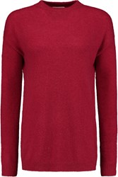 American Vintage Saybrook Wool Blend Sweater Red