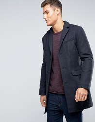 Esprit Wool Overcoat Dark Grey