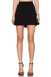 Sam Edelman Crepe Skirt Black