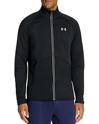 Under Armour Nobreaks Coldgear Infrared Run Jacket Black Black Reflective