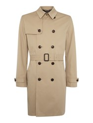 Howick Dale Classic Trench Coat Stone