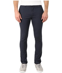 Rvca Stapler Twill Pants Midnight Men's Casual Pants Navy