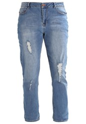 Evans Relaxed Fit Jeans Blue