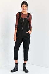 Bdg Zip Front Straight Overall Black