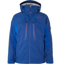 Phenix Geiranger Shell And Canvas Ski Jacket Blue