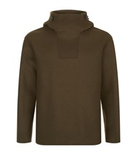 Solid Homme Side Zip Sweatshirt Male Olive